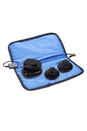 Bolsa Térmica Para Pedras Quentes  - 220V Azul Estek