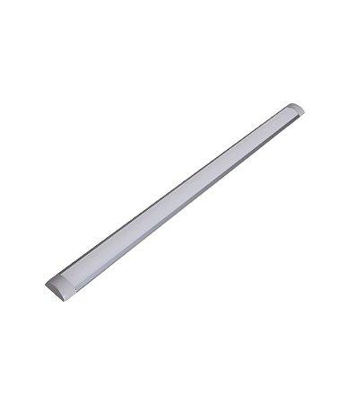 Luminária Led SLIM 36w/40W 1,20MT Sobrepor Branco Frio 6500k