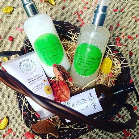 Kit Essencial - Xampu, CondicionAmor, Sabonete Líquido e Hidratante