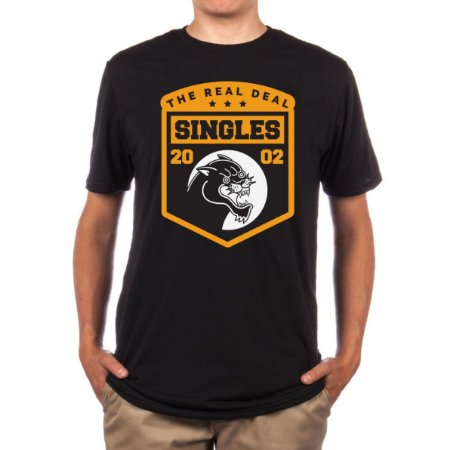 CAMISETA SINGLES THE REAL DEAL 2017
