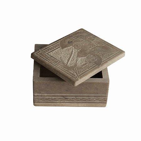 Caixinha de Pedra Sabão - Santo Antônio