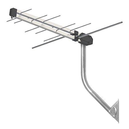 Antena Externa Proeletronic ProHD-3610 VHF/ UHF/ Tv digital kit antena digital + mastro + cabo