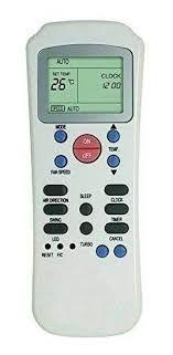 CONTROLE REMOTO PARA AR CONDICIONADO CARRIER - Admiral R14 MXT-CO1309 -