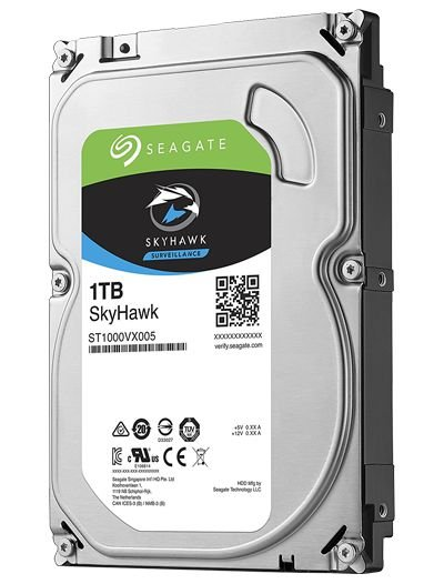 HDD SEAGATE 1TB SKYHAWK ST1000VX005 SATA 6GB/S