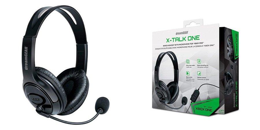 Fone de Ouvido Headset x-Talk Xbox One DreamGear