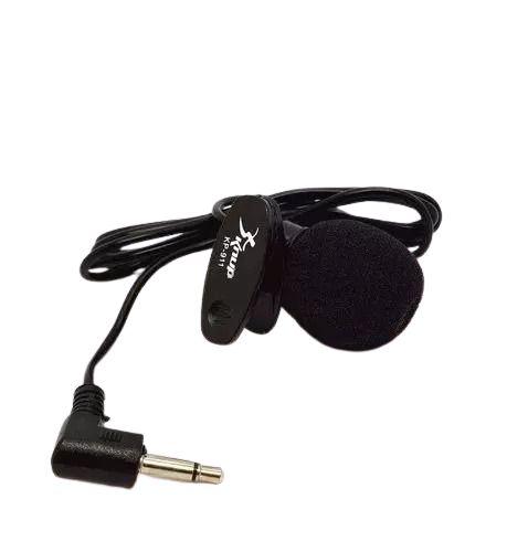 Mini Microfone de Lapela KNUP Para PC, Notebooks, Smartphones e Tablets