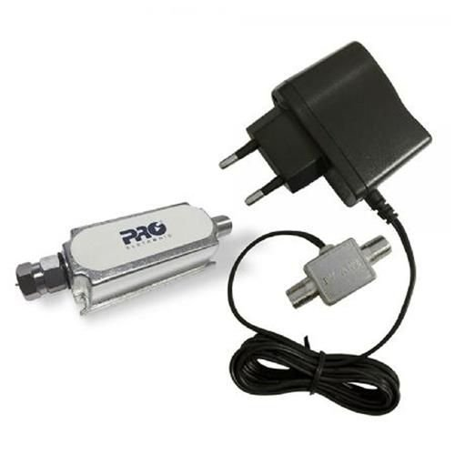 Booster Proeletrônic 26db UHF+VHF LTE HDTV