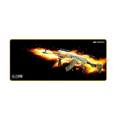 Mouse Pad Gamer Killer Fire MP-G1000 Control C3Tech 70cmx30cm
