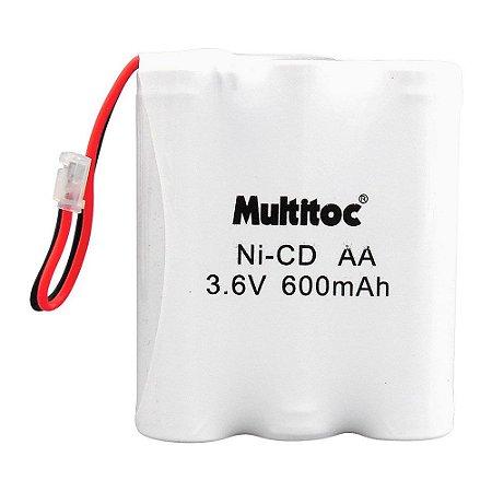 Bateria para Telefone sem Fio Multitoc P50 3.6V 600MAH Plug Universal