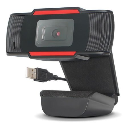 WEBCAM KNUP FULL HD 1080P KP-CW101 - 25 Fps - c/ Microfone - 2MP - Plug Usb - C/ Cabo de 1,5m