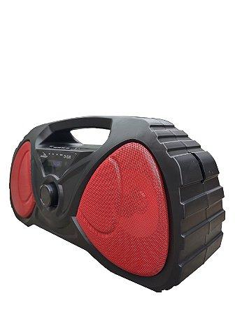 CAIXA DE SOM GRASEP BLUETOOTH MODELO D-S26 - FM INTEGRADO - ENTRADA USB E MICRO SD - SOM HI-FI - DISPLAY LED - 20W RMS