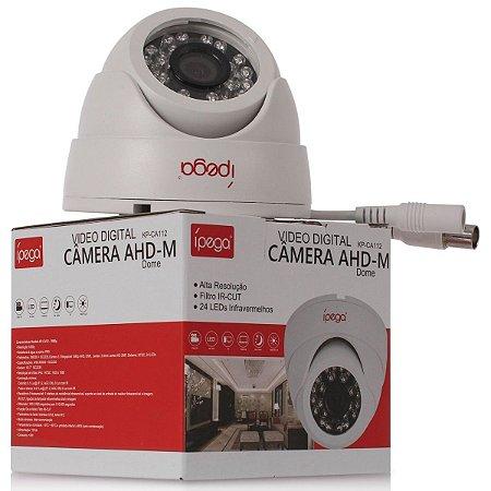 Câmera Dome Ípega Ahd 2mp 1080p 3.6mm Kp-ca138
