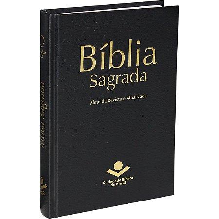 Bíblia Sagrada - RA - Capa dura - Preta