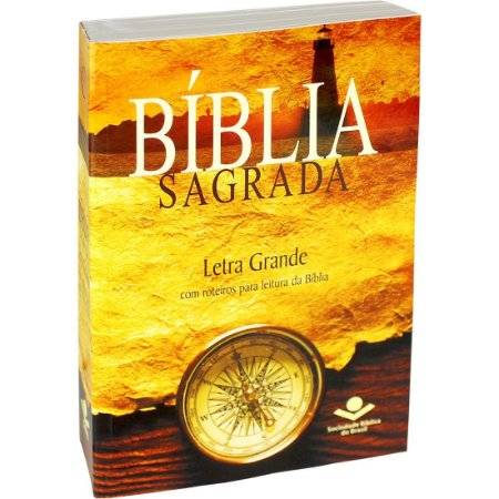 BÍBLIA SAGRADA LETRA GRANDE - RA