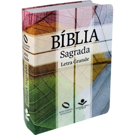 Bíblia Sagrada Letra Grande - Nova Almeida Atualizada - com Índice - Cruz