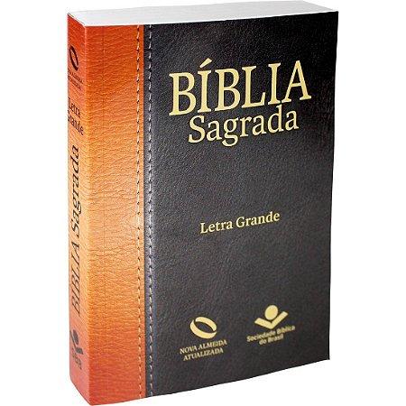 Bíblia Sagrada Letra Grande - Nova Almeida Atualizada - Brochura - Tradicional
