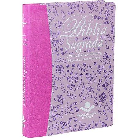 Bíblia Sagrada Letra Extragigante Almeida Revista e Corrigida
