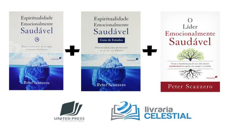 Kit Emocionalmente Saudável - Peter Scazzero 3Vols
