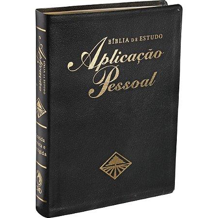 BÍBLIA DE ESTUDO APLICAÇÃO PESSOAL MÉDIA - PRETA
