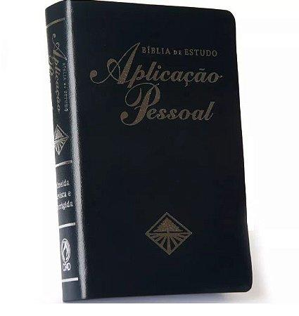 Bíblia de Estudo Aplicação Pessoal - Média - Azul