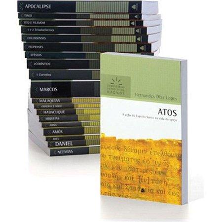 Coleção Comentários Expositivos Hernandes Dias Lopes - 32 Vols