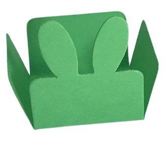 Forminhas para Doces Coelhinho - Pacote com 100 Unidades / 3,5x3,5x2