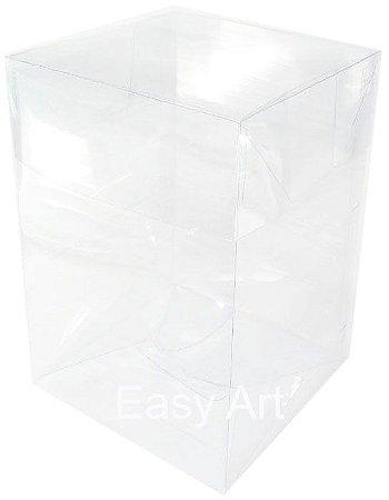 Caixinha para Mini Bolos - 10x10x10 / Transparente