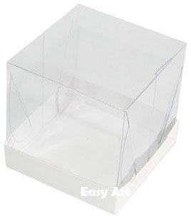 Caixinha para Mini Bolos 10x10x10 - Branco