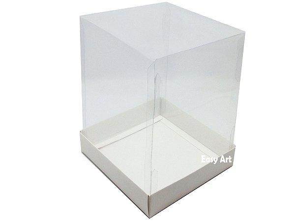 Caixinha para Mini Bolos / Mini Panetones 10x10x10 - Pct com 10 Unidades