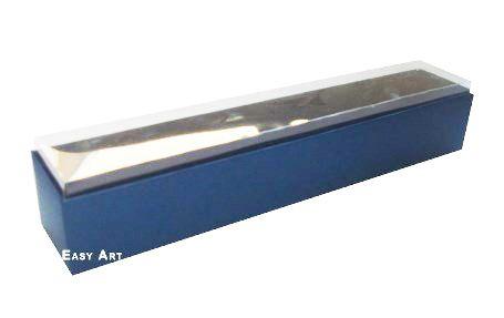 Caixas para 6 Brigadeiros - Azul Marinho