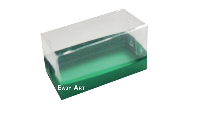 Caixa Para 2 Brigadeiros - Verde Bandeira