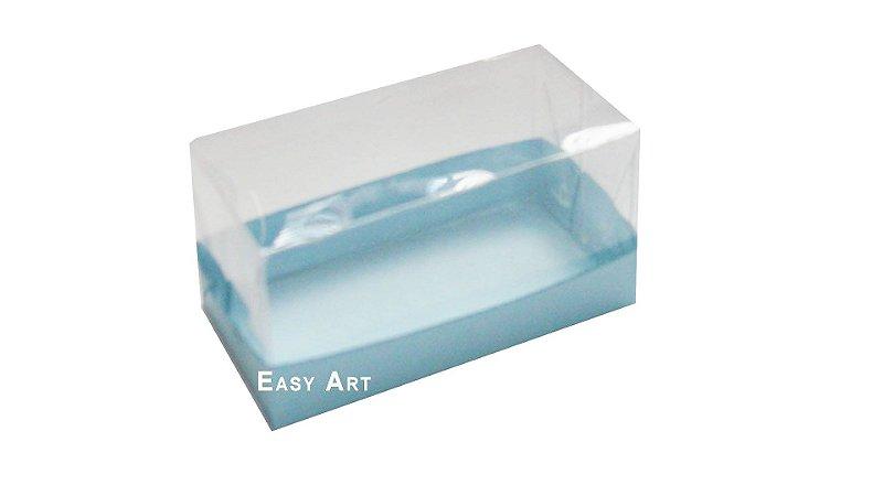 Caixa Para 2 Brigadeiros - Azul Claro