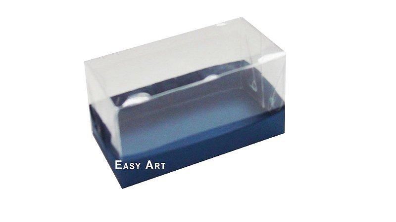Caixa Para 2 Brigadeiros - Azul Marinho