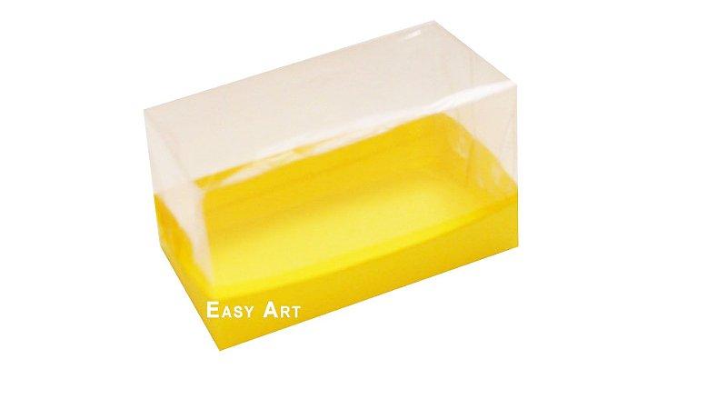 Caixa Para 2 Brigadeiros - Amarelo