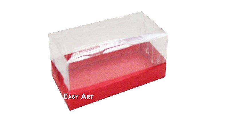 Caixa Para 2 Brigadeiros - Vermelho