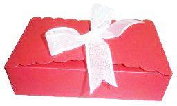 Caixinha para Biscoitos e Presentes - Vermelho