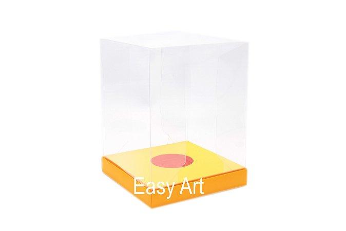 Caixa para Ovos de Páscoa de Pé - Laranja Claro