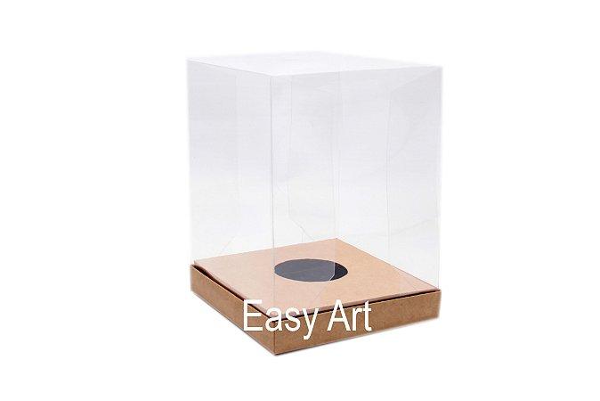 Caixa para Ovos de Páscoa de Pé - Kraft