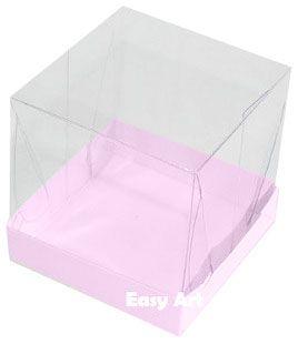 Caixinhas para Mini Bolos - Rosa Claro