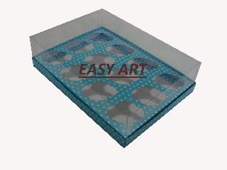 Caixas Especiais para Mini Cupcakes - 23,5x16,8x6