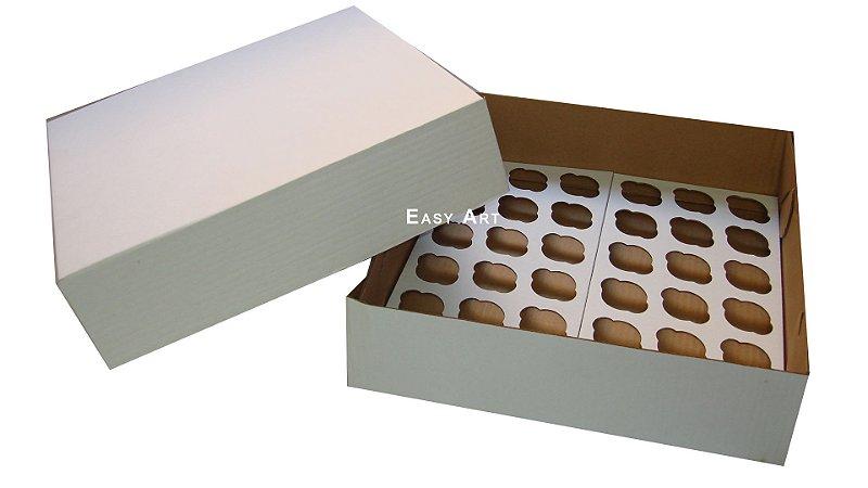 Caixas para Transporte de Mini Cupcakes - Papelão