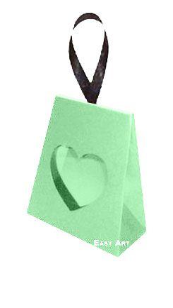 Caixinha Coração - Verde Claro