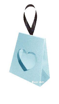 Caixinha Coração - Azul Claro
