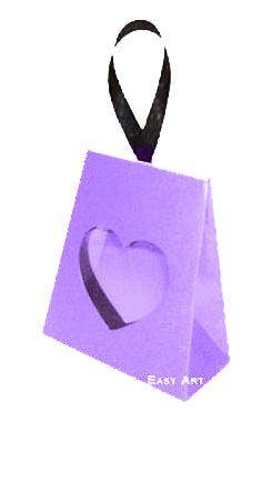 Caixinha Coração - Lilás