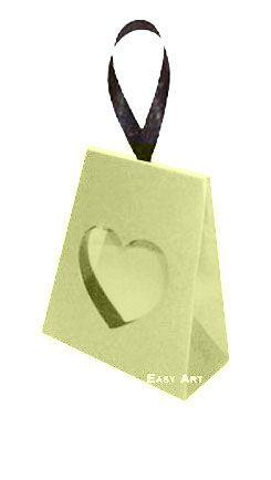 Caixinha Coração - Marfim