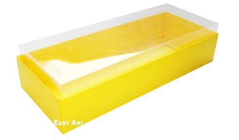 Caixa para 15 Brigadeiros - Amarelo