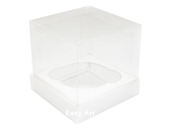 Caixas para Cupcakes - Branco