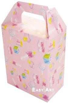 Caixa Maleta - Estampado Bebê Rosa