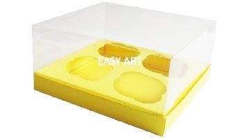 Caixas para Cupcakes - Marfim