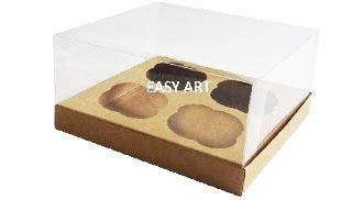 Caixas para Cupcakes - Kraft